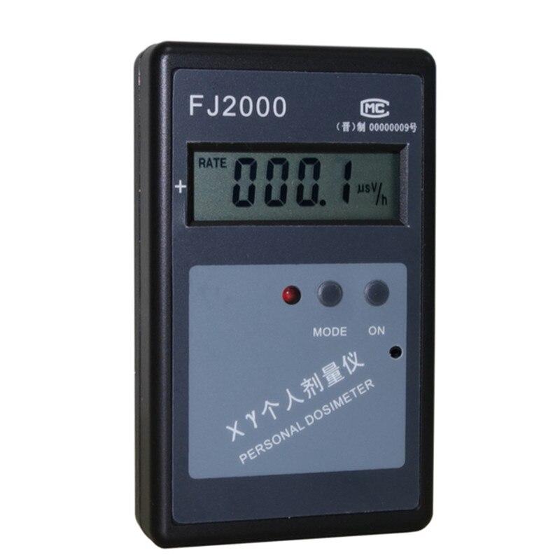 Детектор ядерной радиации FJ2000 электронное прямое считывание X персональный