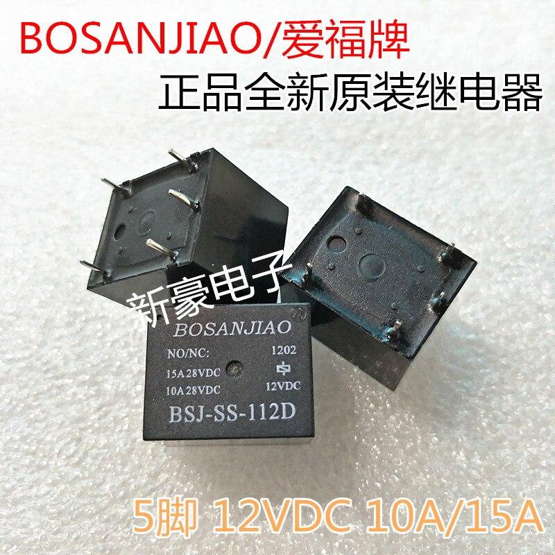 5 unidades/lote, nuevo y original, BSJ-SS-112D, 12VDC, T73, BSJ-SS-112D