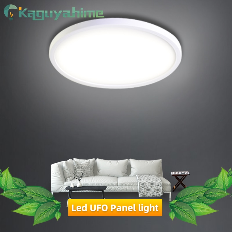 Kaguyahime LED-Panel Lampe 36W 24W 18W 13W 9W 6W LED Decke Licht AC 85-265V Moderne Unten Licht Oberfläche Montiert Lampe Hause Licht