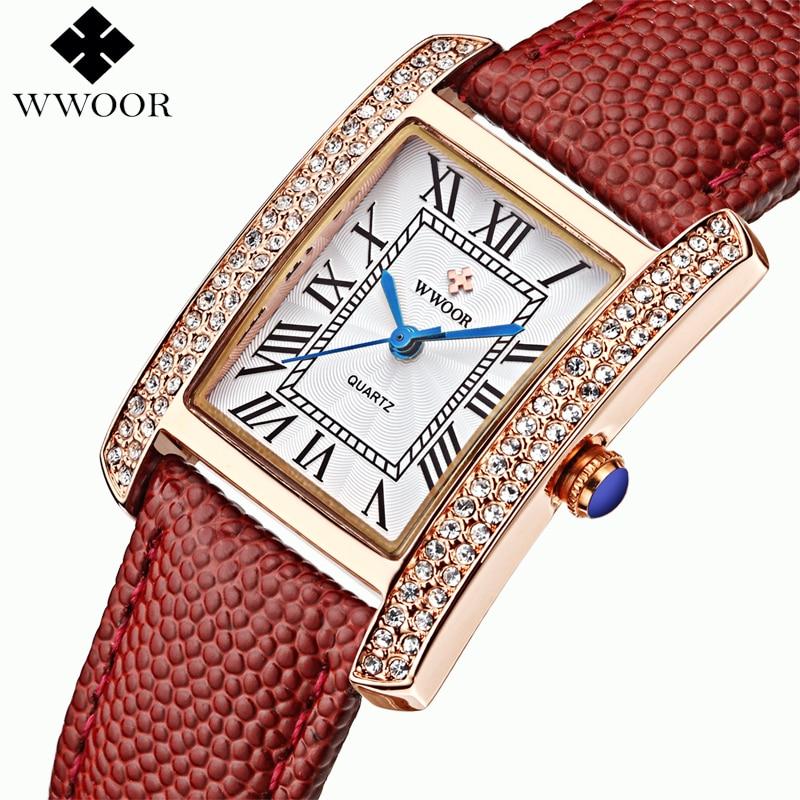 Mulheres da Moda Ocasional das Senhoras Vestido de Relógios de Luxo Relógio de Quartzo Relógios de Pulso Novo Relógio Mulheres Strass Feminino 2021