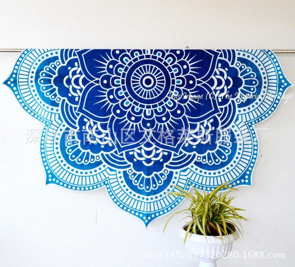 Hot summer szyfonowa wall hanging tapestry koc ręcznik plażowy duży mediter flora miękkie narzuta yoga mat obrus home decor 6