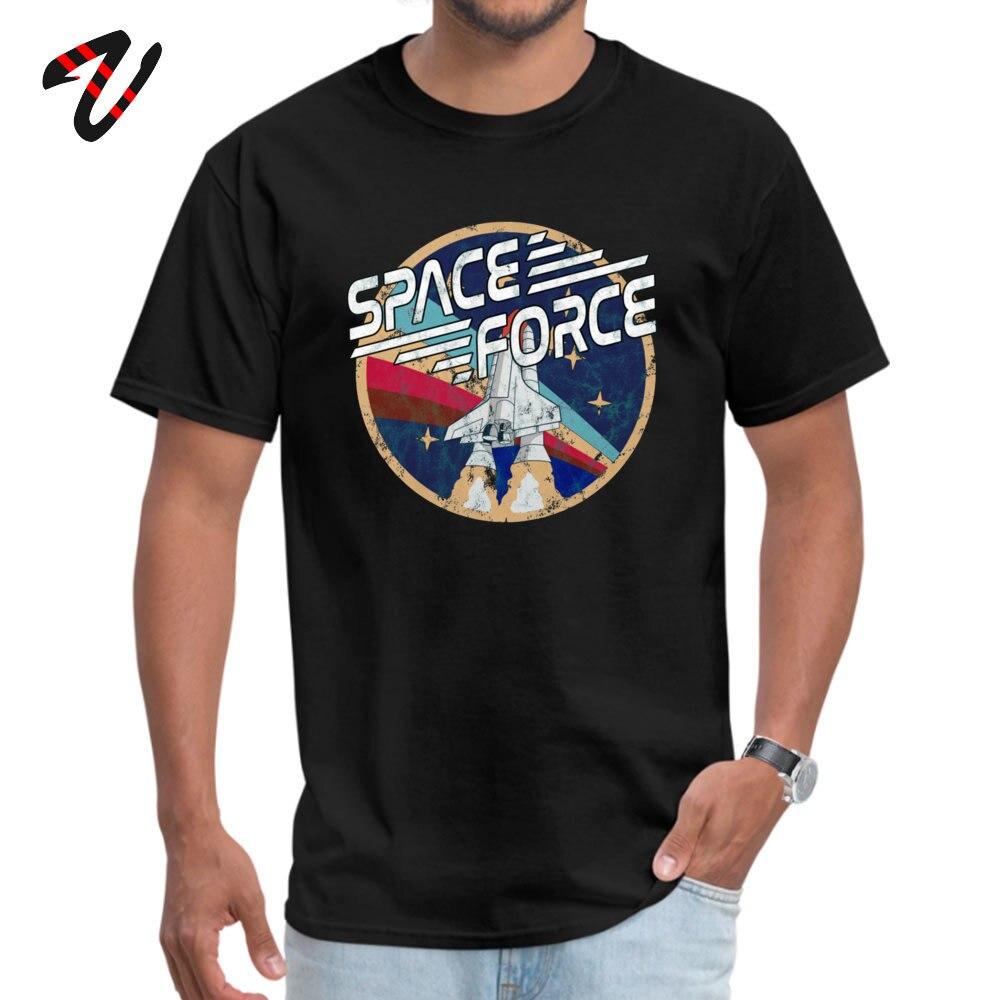 Blusa de moda para hombre, ropa clásica de Space Force, Camiseta de cuello redondo, camisetas de Satanás de verano, regalo, Camiseta corta de gorila