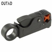 Offre spéciale outil ménager multifonction rotatif Coaxial Coaxial outil de coupe de câble RG58 RG59 RG6 haute Impact matériel dénudeur de fil