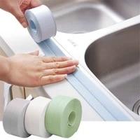 Bande de scellage murale etanche  pour cuisine  salle de bain  ruban adhesif  resiste aux moisissures  carrelage  reparation des fissures