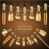 40 W הנורה אדיסון בציר, A19 הנורה מנורת ליבון E27 אור רטרו, G80, G95, ST64, T10, T185, T225, T300, T45, A19, ST58