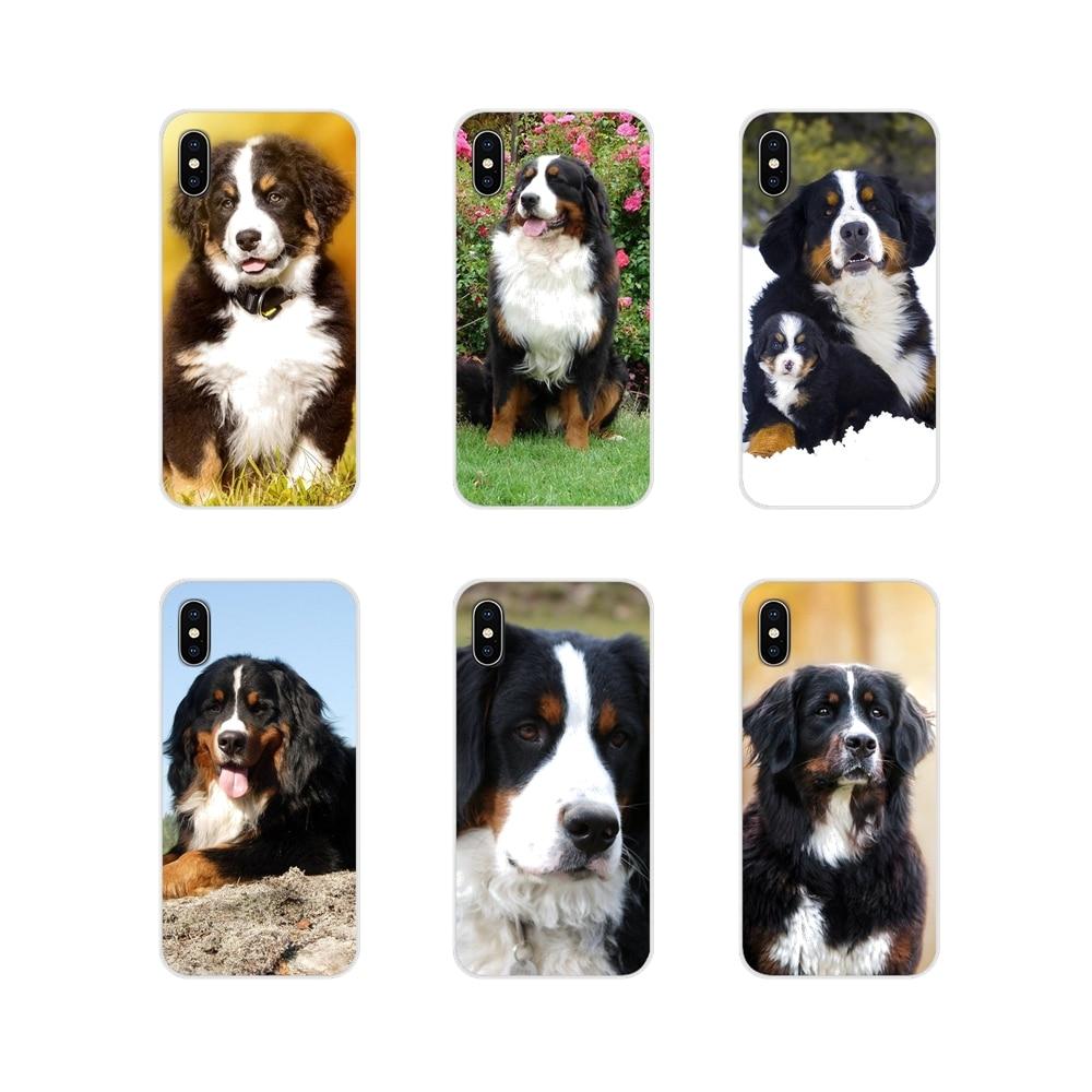Para Samsung Galaxy J1 J2 J3 J4 J5 J6 J7 J8 Plus 2018 primer 2015 de 2016 de 2017 Bernese Mountain Dog carcasa para teléfono accesorios de arte