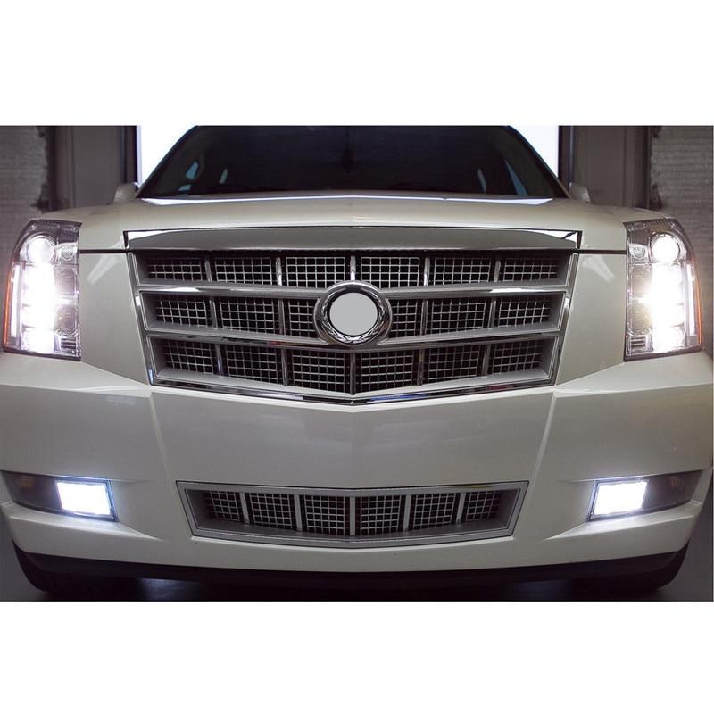 6Pcs Weiß LED Nebel Driving DRL Glühbirnen Combo Für 2007-2014 Cadillac Escalade
