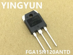 5 pçs/lote FGA15N120 15N120 ANTD IGBT 15A/1200 V Novo