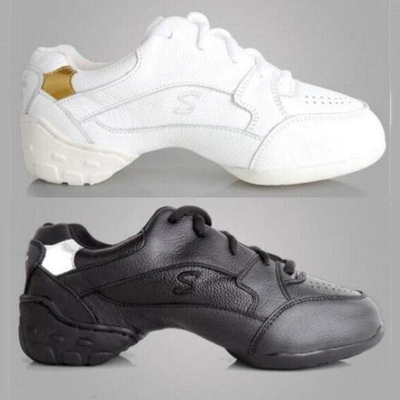 Nuevos zapatos de baile 2017, zapatos de mujer, zapatillas de baile de cuero, zapatos de baile de plataforma para mujeres, chicas