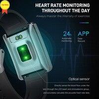 waterproof fitness tracker watch Heart Rate Blood Pressure sleep monitor Bluetooth smart watch band sport Smartwatches activity