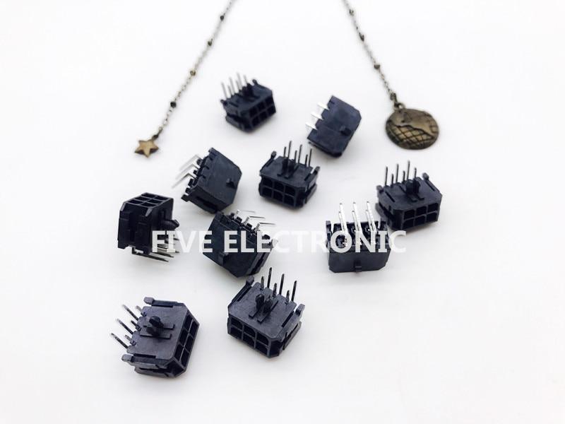 5 шт./лот, 43045-0600 6-позиционный коннектор 0,118