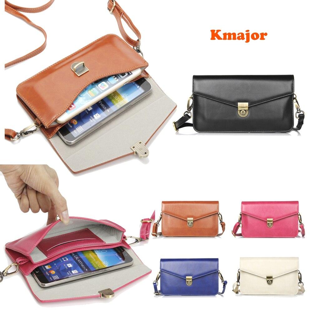 Универсальная прочная кожаная сумка через плечо, многофункциональный мобильный телефон, сумка, женская сумка с подвеской на шее, кошелек, с...