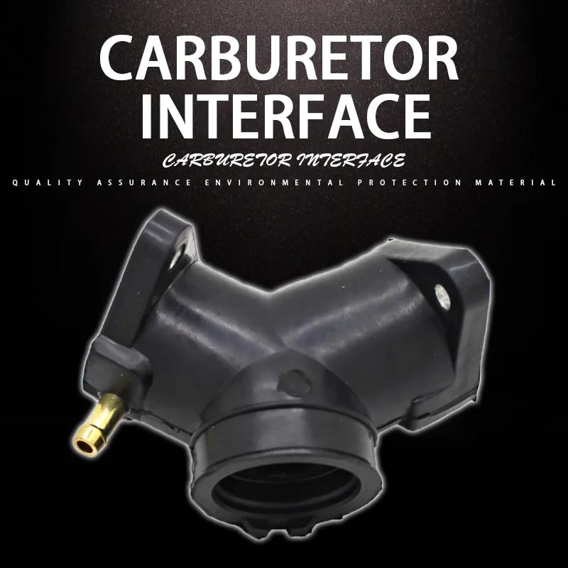 Adaptateur d'installation de carburateur, Interface de carburateur, connecteur de tuyau d'admission, colle pour Yamaha XV250 Virago XVS250 XV 250