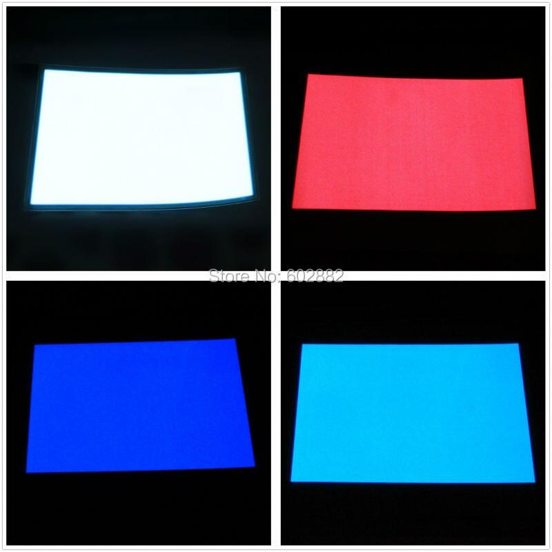 (148x210 мм) A5 EL подсветка, панель EL + 12v большой SG инвертор смешанный заказ Доступен
