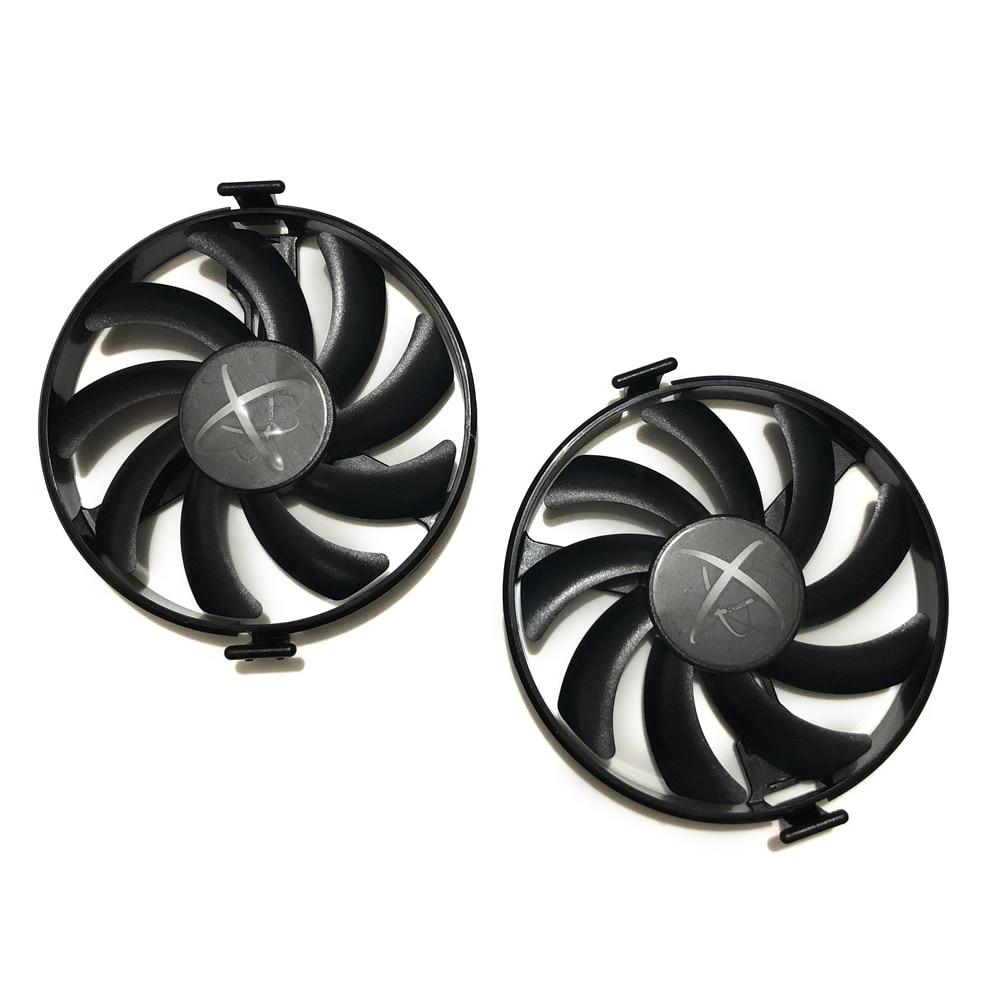 RX400 GPU Kühler RX470 RX480 Grafikkarte Fan VGA Karten gebläse Für XFX RX 470/480 Video karte kühlung