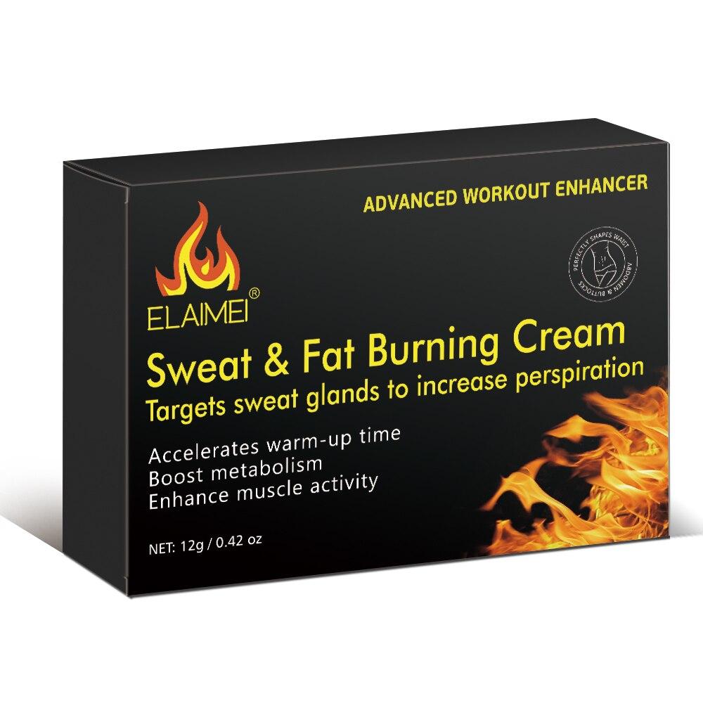 Fat Burning Slimming Body Cream Firming Abdominal Muscle Vest Line Fat Burning Reducing Cream Men Women Fitness 10 Bags/box New