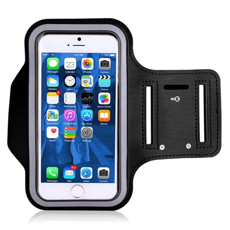 Umidigi-teléfono inteligente A5 Pro, pulsera de deporte correr, bolsa para muñeca, banda de brazo para bicicleta, teléfono móvil Universal, funda para Umidigi Power en la mano
