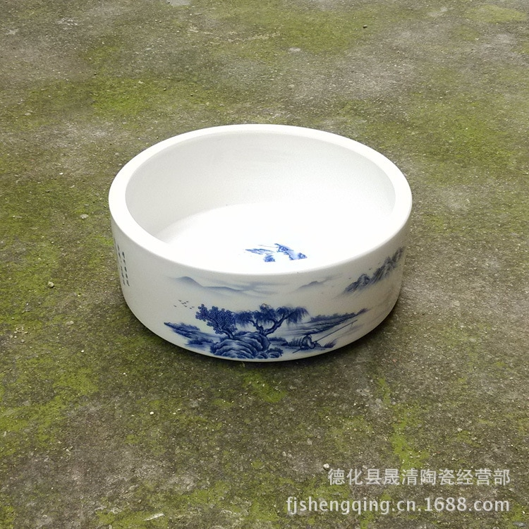Direto da Fábrica de Porcelana de Jingdezhen Lavagem de Chá de Lavagem Cerâmica Pu'er Kung Dom Chá fu