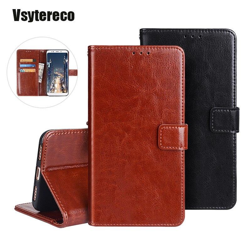 Funda billetera para móvil General GM 9 Pro GO 5 PLUS 6 GM5 GM9 lujosa funda de teléfono de cuero con tapa Vintage con ranuras para tarjetas