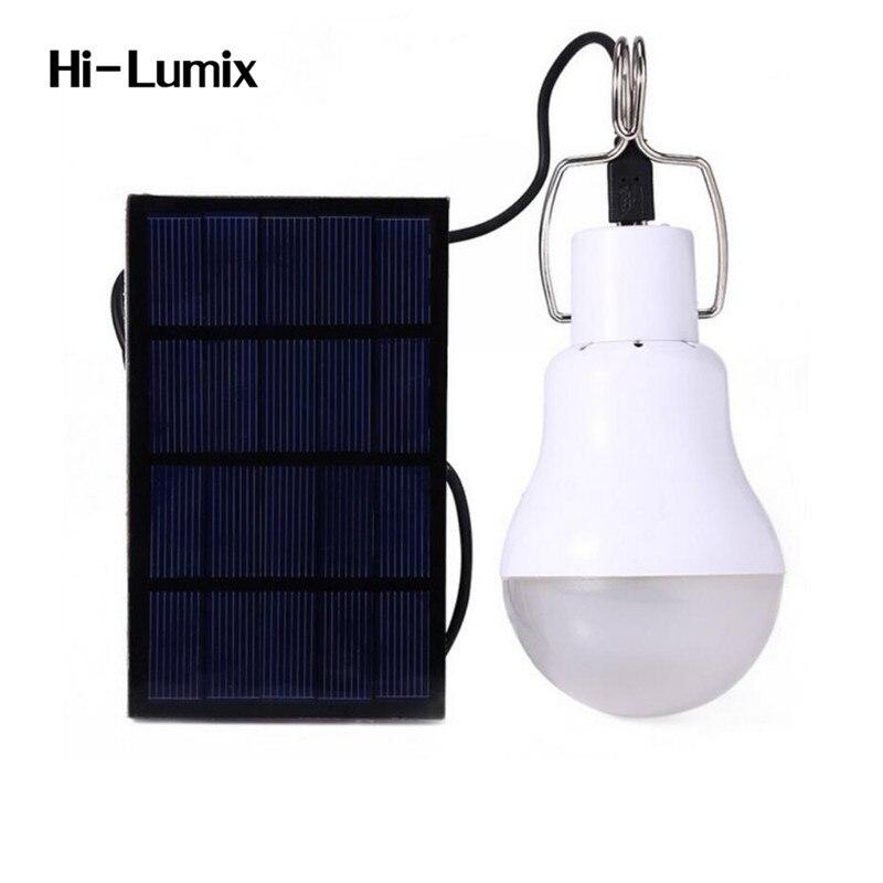 Solar Camping luz bombilla portátil 150LM batería LED lámpara colgante blanco suave luz al aire libre de senderismo de lectura de la tienda de pesca