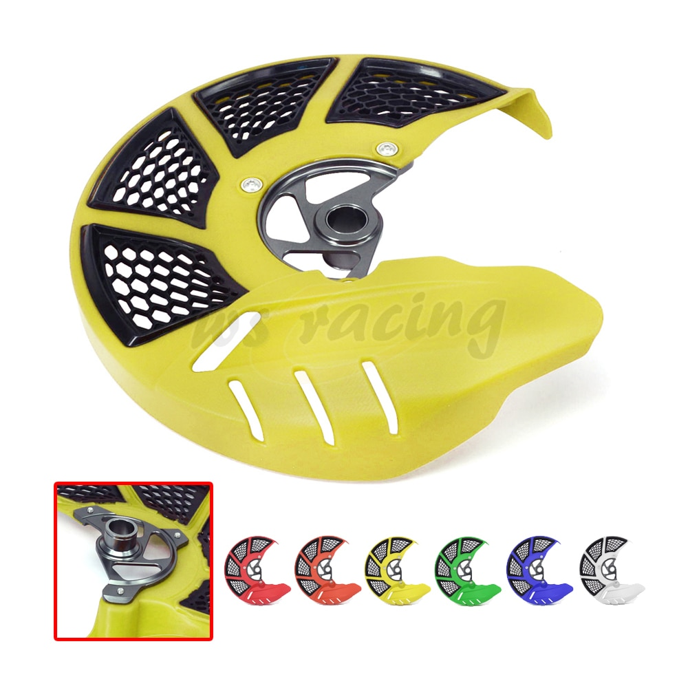 Motorcycle Front Brake Disc Rotor Guard Cover Protector For SUZUKI RMZ250 RMZ 250 2007-2017 RMZ450 450 05-17 RMX450Z 10-16