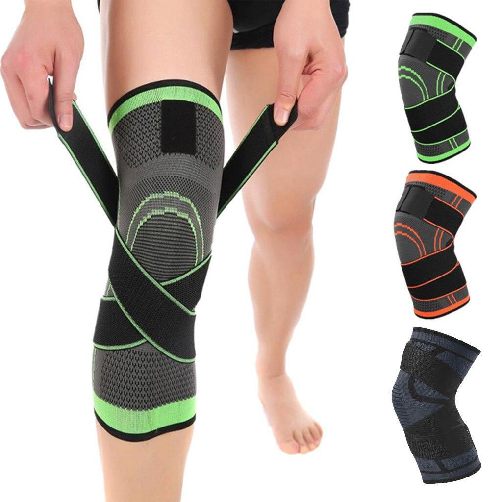 SKDK 3D Weben Knie Brace Pad Unterstützung Schützen Atmungsaktive Lauf Unterstützung