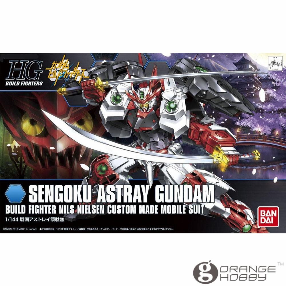 Salud Bandai HG construir cazas 007 1/144 Sengoku camino Gundam traje móvil asamblea modelo Kits