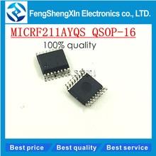 10 pcs/lot nouveau 211 AYQS MICRF211AYQS MICRF211 SSOP-16 3 V, QwikRadioR 433.92 MHz récepteur IC puce