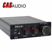 K7 amplificateur de puissance numérique pour PC amplificateur Audio HiFi avec réglage des aigus des basses