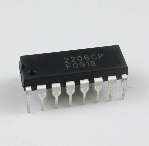 1 pièces/lot XR2206CP XR2206 DIP-16 en Stock
