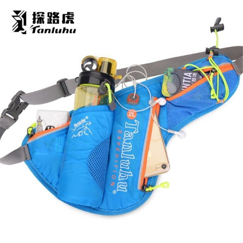 Bolsa de cintura para correr maratón TANLUHU 371 bolsa de nailon para deportes bolsa para hervidor de agua bolsa de senderismo para escalada al aire libre
