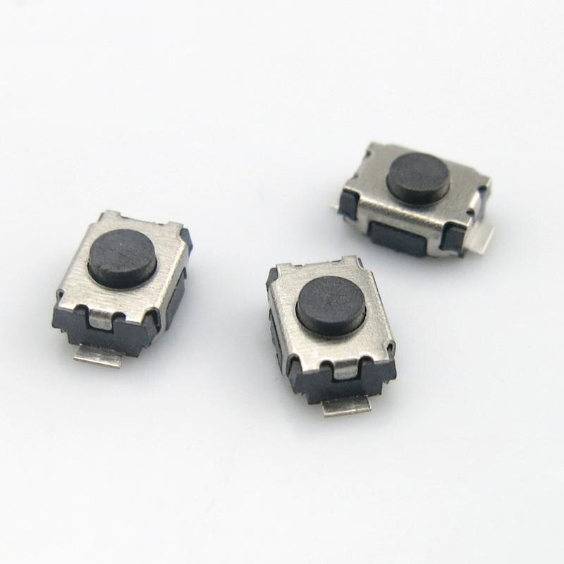 10Pcs 3*4*2MM Takt Schalter Schildkröte schalter SMD 2-pin mini tasten micro schalter 3x4x2MM 2H Power schalter