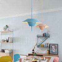 Semi-circular pendant lights dining room pendant lamps modern color pendant lamps E27*1
