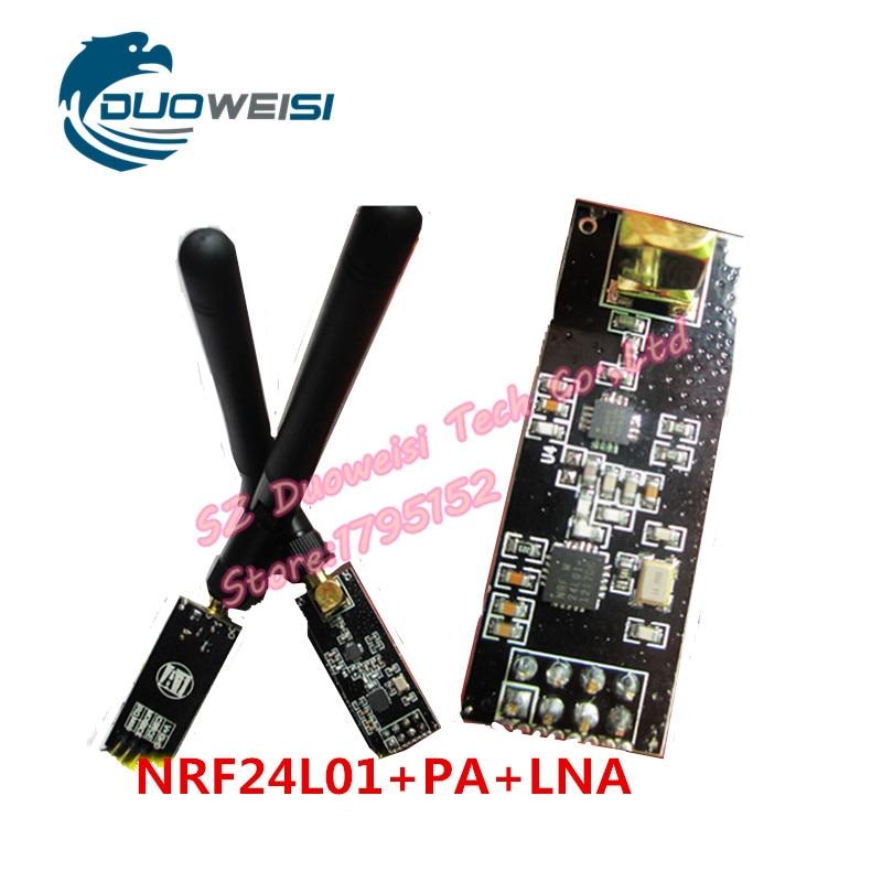 1100-meter longa-distância NRF24L01 + PA + LNA módulos sem fio (com antena)