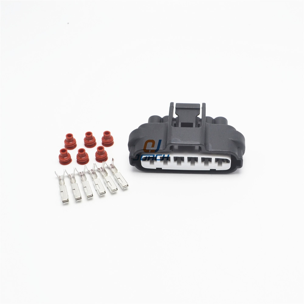 5 Juegos de 6 pines hembra Toyota Mazda Hilux acelerador Pedal enchufe Auto impermeable Válvula de acelerador electrónico conector 7283-1968-30