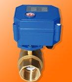 Free Shipping G1/2'' CWX Mini Control Brass Ball Valve For Water Treatment CR01,CR02,CR05 Control 3-6V or 12V 5PCS