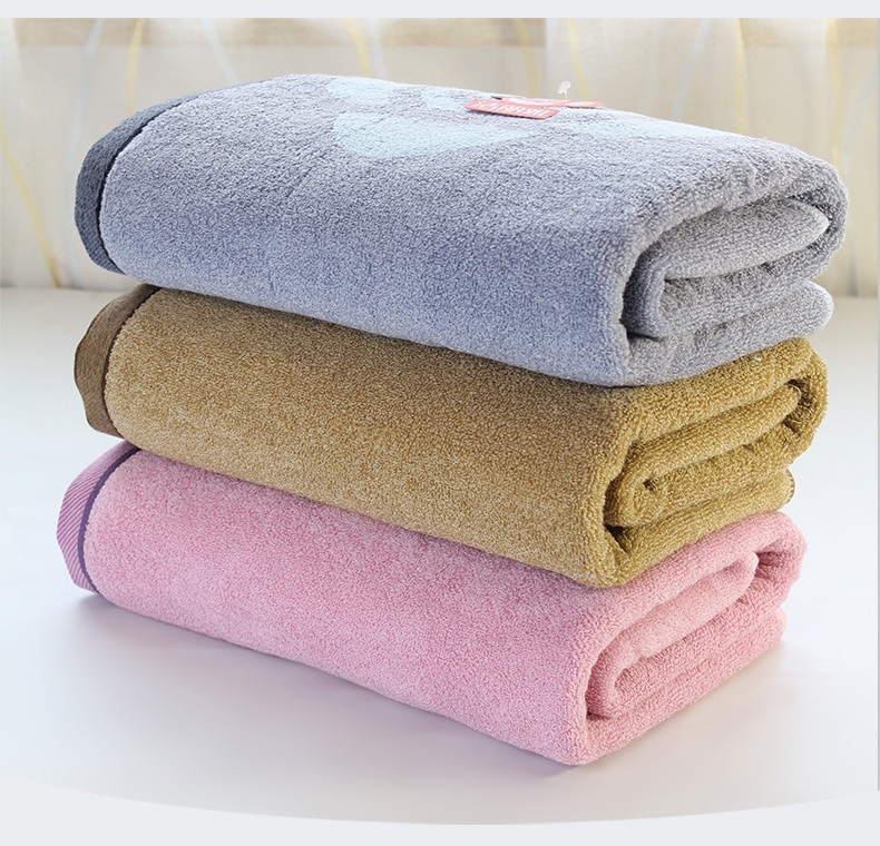 Flag Large Shower Adults Soft Cotton Bath Towel Gifts Sets Jacquard Bathroom Towels Wody Hotel Towels Decoration Product 50C6064
