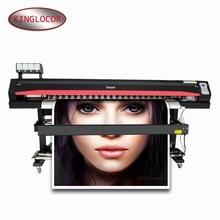 Locor/Lecai 1.6 m deux Dx5 tête dimpression jet dencre Flex bannières imprimante détiquettes, Machine dimpression de publicité extérieure numérique