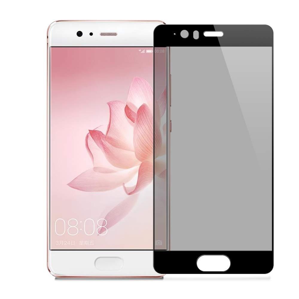 Filtro de privacidad vidrio templado película de cobertura completa Protector de pantalla antiespía para Huawei P10/P10 PLUS