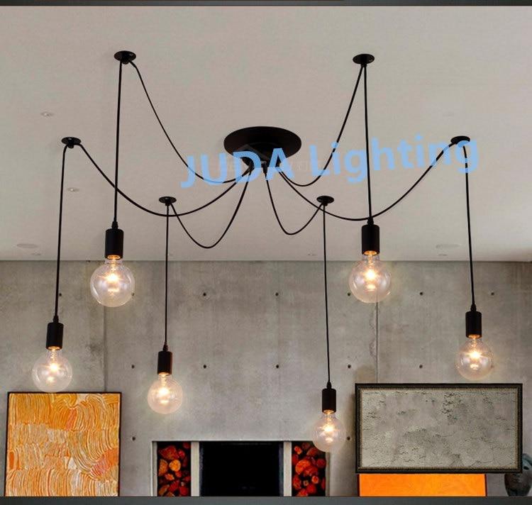 Retro industrial lámparas de techo canopy con cable de alambre de E27 zócalo de la lámpara titular conjunto base de lámpara led interior lámparas