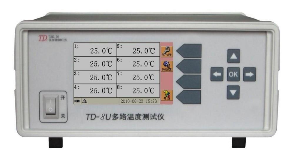 Canal de Medidor de Temperatura com Interface Padrão tipo k Usb e Termopar Multi-canal n r s b t. 32 Td-32u-01 j k