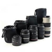 Camera Neopreen Dslr Lens Soft Pouch Protector Case Tas Voor Canon Nikon Sony