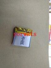 Nouvelle batterie au lithium polymère Rechargeable 3.7 V 803030 083030 700 mah vente directe