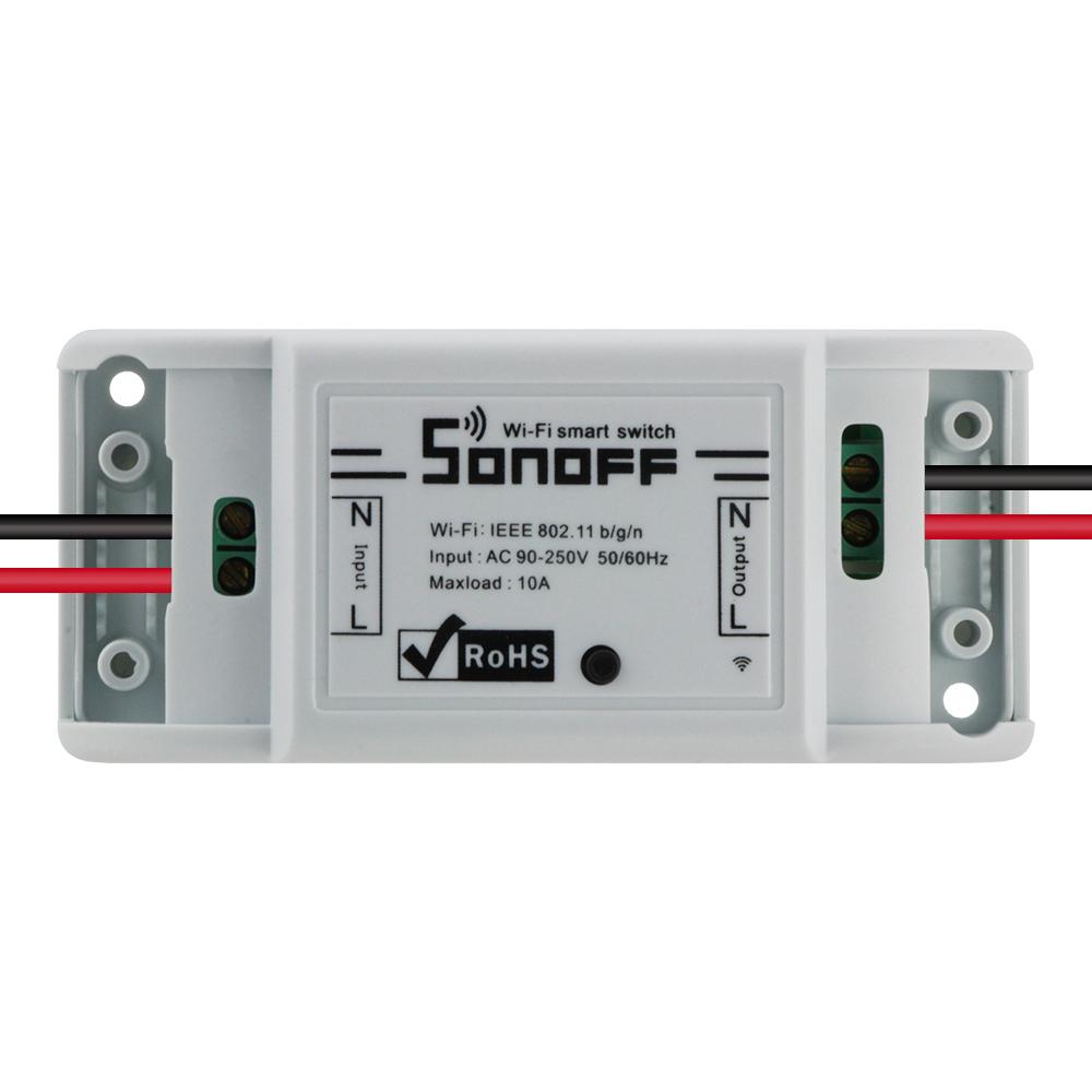 Sonoff dc220v Pilot Bezprzewodowy Przełącznik automatyki Inteligentnego Domu/Inteligentny WiFi Centrum dla APP Inteligentny Dom Steruje 10A/2200 W 10