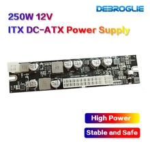 12V DC Input 250W Output Mini ITX Pico PSU DC ATX PC Schakelaar DC Voeding Voor Computer server