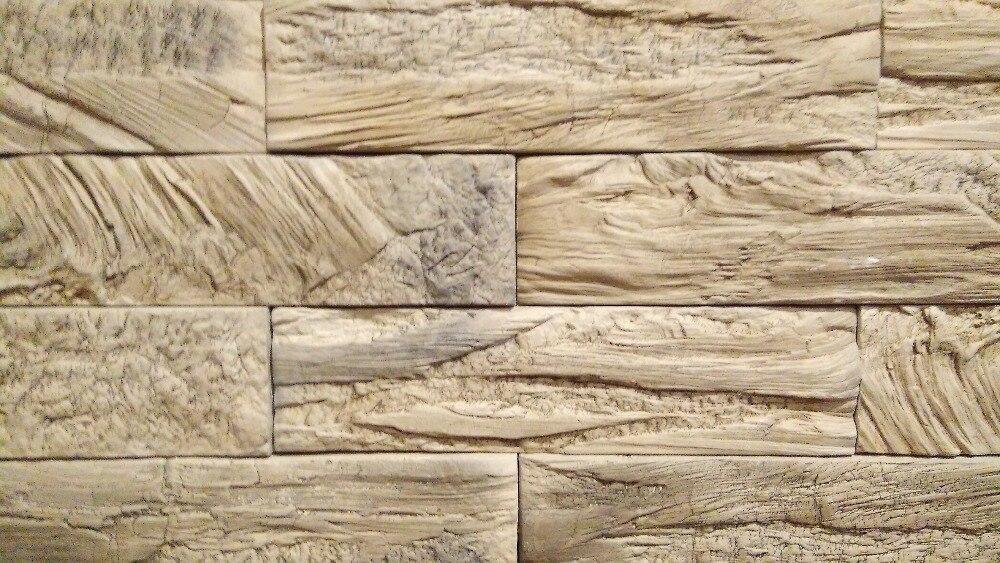 """Nuevos moldes de poliuretano modelo 2018 año mejor precio para hormigón Pared de yeso piedra cemento azulejos """"ladrillo #"""" moldes de pared decorativos"""