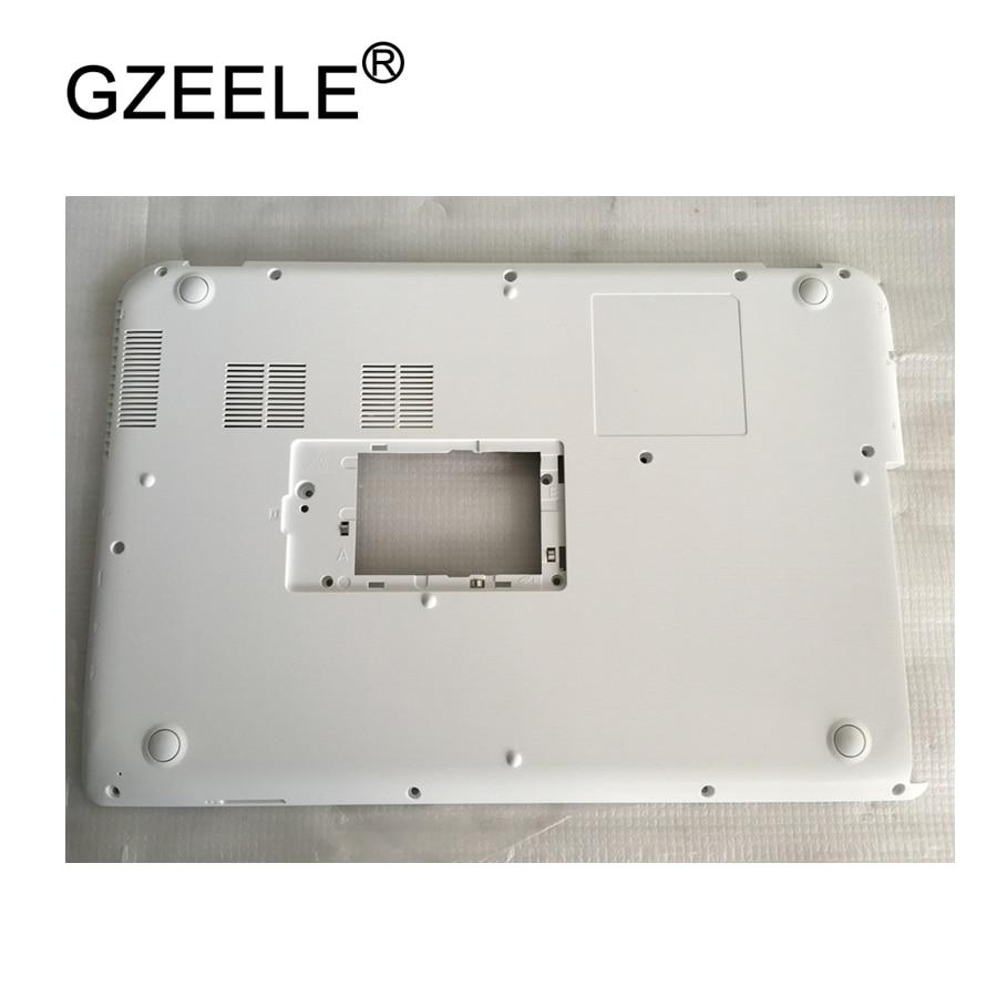 GZEELE جديد laptop القعر حالة غطاء لتوشيبا للستالايت L40-A L45-A S40-A S45-A أقل حالة PN : AP0WF000B20 الأبيض D غطاء