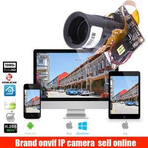 H.265 2MP IP Camera Module 4X Auto Zoom Varifocal Auto Iris Lens 2.8-12mm HI3516E + SC2235 1920x1080P Resolution