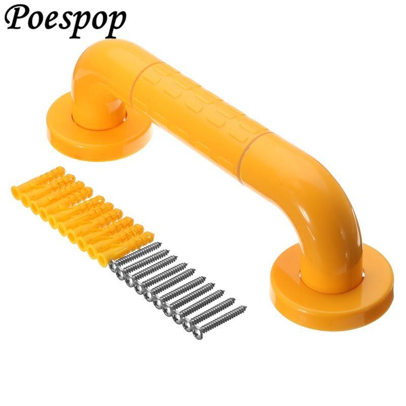 POSEPOP-مسكة أمان لدش الحمام 30 سنتيمتر ، درابزين حائط من الفولاذ المقاوم للصدأ لكبار السن