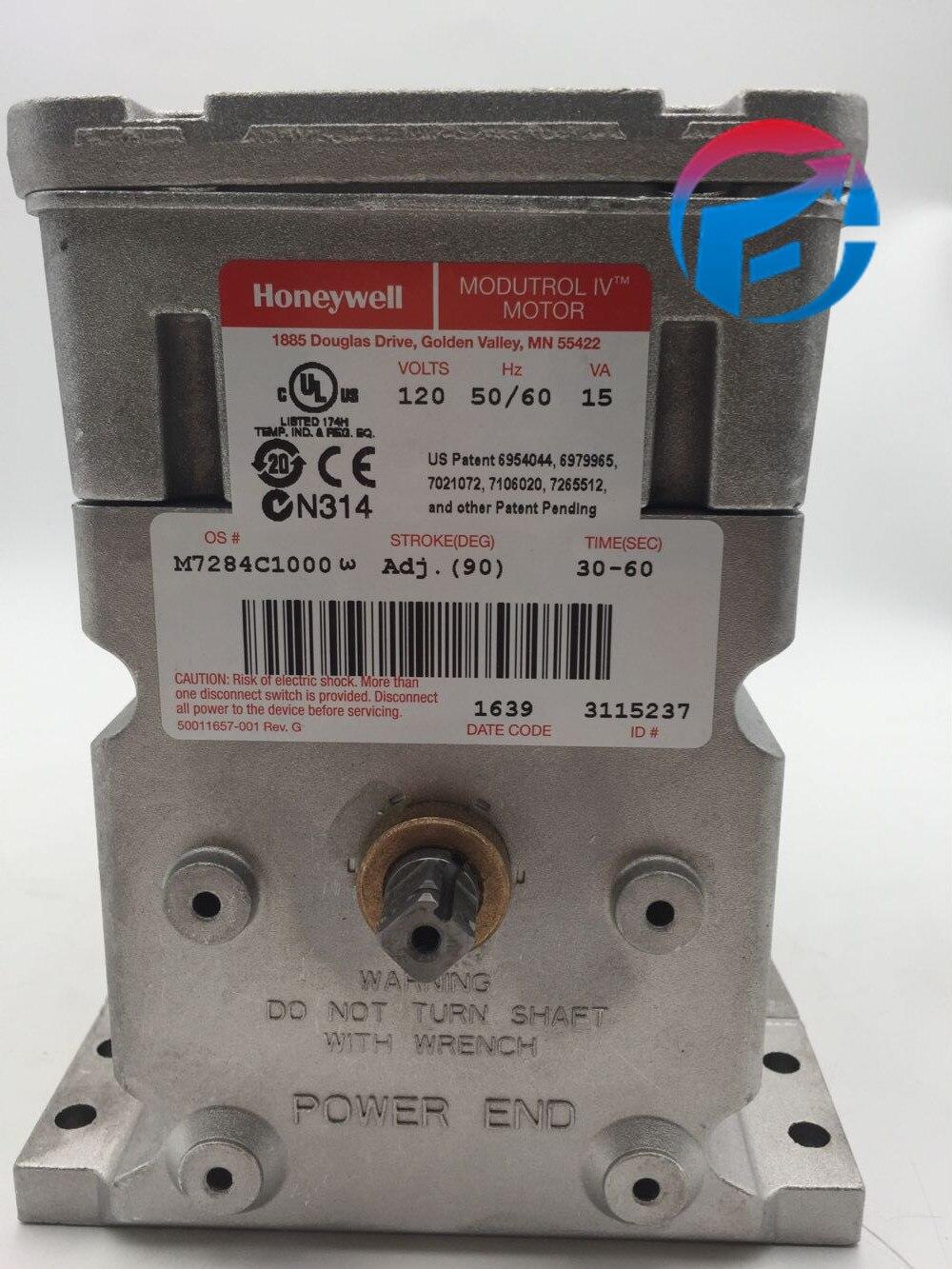 محرك المثبط M7284C1000 ، 17 نانومتر ، Honeywell ، للموقد ، جديد وأصلي